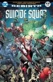 François Hercouët et Pôl Scorteccia - Suicide Squad Rebirth N° 10, avril 2018 : Suicide Squad ; Justice League of America ; Harley Quinn ; Deathstroke.