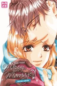 Maki Enjoji - Happy Marriage ?! Tome 6 : Edition collector - Avec 3 cartes postales et 1 marque-page.
