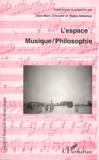 Makis Solomos et  Collectif - L'espace - Musique-philosophie, [actes du colloque international, Université de Paris-Sorbonne, 27-29 juin 1997.
