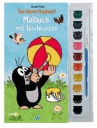 Malbuch mit Tuschkasten Der kleine Maulwurf.