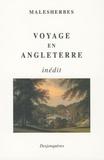 Malesherbes - Voyage en Angleterre.