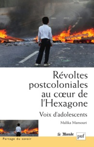 Malika Mansouri - Révoltes postcoloniales au coeur de l'Hexagone.