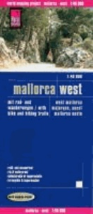 Mallorca West Wanderkarte. 1 : 40 000.