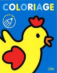 Malorie - Coloriage la poule.