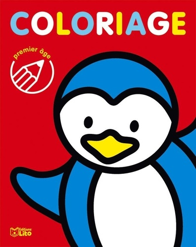 Malorie - Coloriage le pingouin.