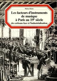 Deedr.fr Les facteurs d'instruments de musique à Paris au XIXe siècle - Des artisans face à l'industrialisation Image