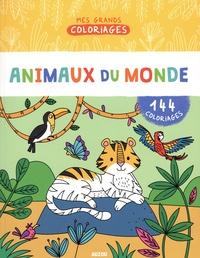 Malu Lenzi - Animaux du monde - 144 coloriages.