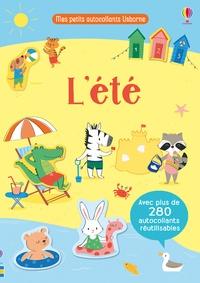 Malu Lenzi - L'été - Mon petit livre d'autocollants.