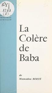 Mamadou Berté - La colère de Baba.