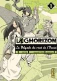 Mamare Tôno et  Koyuki - Log Horizon - La Brigade du vent de l'Ouest Tome 1 : .