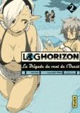 Mamare Tôno et  Koyuki - Log Horizon - La Brigade du vent de l'Ouest Tome 2 : .