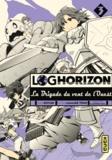 Mamare Tôno et  Koyuki - Log Horizon - La Brigade du vent de l'Ouest Tome 3 : .
