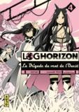 Mamare Tôno et  Koyuki - Log Horizon - La Brigade du vent de l'Ouest Tome 4 : .
