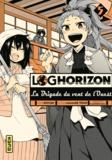 Mamare Tôno et  Koyuki - Log Horizon - La Brigade du vent de l'Ouest Tome 5 : .