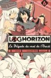 Mamare Tôno et  Koyuki - Log Horizon - La Brigade du vent de l'Ouest Tome 6 : .