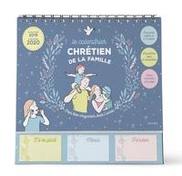 Le calendrier chrétien de la famille- Avec 1 crayon -  Mame |