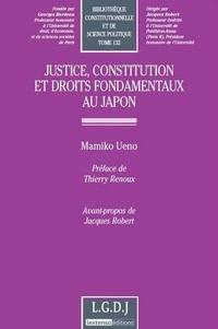 Mamiko Ueno - Justice, constitution et droits fondamendaux au Japon.