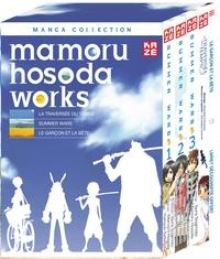 Mamoru Hosoda et Iqura Sugimoto - Mamoru Hosoda Works - Coffret La traversée du temps + Summer Wars tomes 1 à 3 + Le garçon et la bête (livret découverte offert).