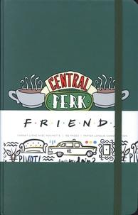 Mana Books - Central Perk - Friends - Carnet ligné avec pochette.