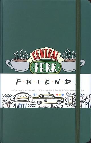 Central Perk - Friends. Carnet ligné avec pochette