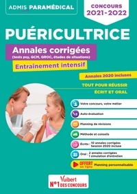 Mandi Gueguen et Richard Guçek - Puéricultrice Annales corrigées (tests psy, QCM, QROC, études de situations) - Entraînement intensif.