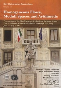 Manfred Leopold Einsiedler - Homogeneous Flows, Moduli Spaces and Arithmetic.