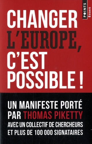 Manon Bouju et Lucas Chancel - Changer l'Europe, c'est possible !.