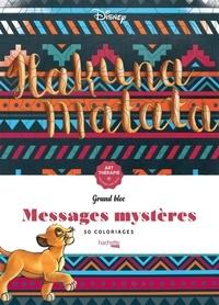 Manon Bucciarelli - 50 messages mystères Disney.
