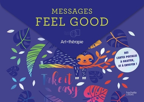 Manon Bucciarelli - Messages feel good - Des cartes postales à gratter, et à envoyer !.