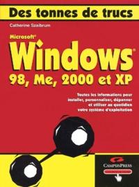Manon Cassade et Catherine Szaibrum - Windows 98, Me, 2000 et XP.