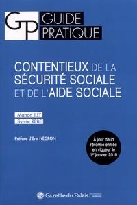 Manon Illy et Sylvie Rébé - Contentieux de la sécurité sociale et de l'aide sociale.