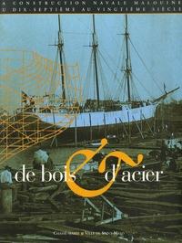 Manonmani Restif - De bois et d'acier - La construction navale malouine du 17e au 20e siècle. 1 Cédérom