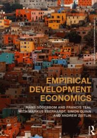 Mans Soderbom et Francis Teal - Empirical Development Economics.