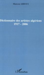 Dictionnaire des artistes algériens 1917-2006.pdf