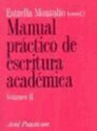 Manual práctico de escritura académica, II.