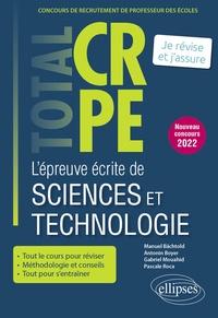 Manuel Bächtold et Antonin Boyer - L'épreuve écrite de sciences et technologie.