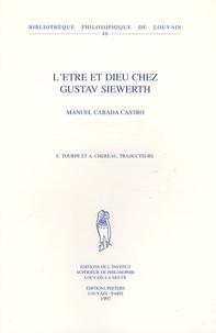 Manuel Cabada Castro - L'Etre et Dieu chez Gustav Siewerth.