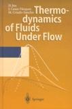 Manuel Criado-Sancho et David Jou - Thermodynamics of Fluids Under Flow.
