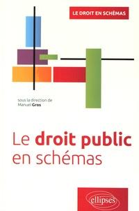 Manuel Gros - Le droit public en schémas.