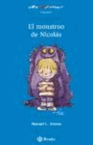 Manuel L. Alonso - El monstruo de Nicolás, Educación Primaria, 1 ciclo. Libro de lectura.