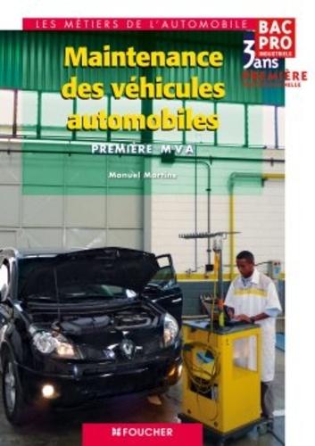 Maintenance des véhicules automobiles, 1e Bac Pro Industriels MVA