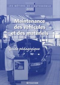 Galabria.be Maintenance des véhicules et des matériels Tle BEP MVM - Guide pédagogique Image