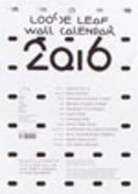 Manuel Raeder - Loose Leaf - Wall Calendar 2016.