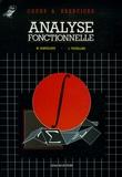 Manuel Samuelides et Lucien Touzillier - Analyse fonctionnelle.