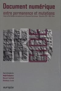 Document numérique, entre permanence et mutations - Actes du 13e Colloque international sur le Document Electronique.pdf