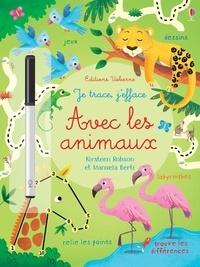Manuela Berti et Kirsteen Robson - Avec les animaux - Avec un feutre à encre effaçable.