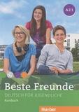 Manuela Georgiakaki et Elisabeth Graf-Riemann - Beste Freunde A2.1 - Deutsch für Jugendliche Kursbuch.