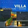 Manuela Roth - Villa Architecture + Design - Edition bilingue anglais-allemand.