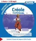Manuella Antoine - Créole martiniquais - Coffret conversation. 1 CD audio MP3