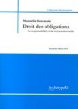 Manuella Bourassin - Droit des obligations - La responsabilité civile extracontractuelle.